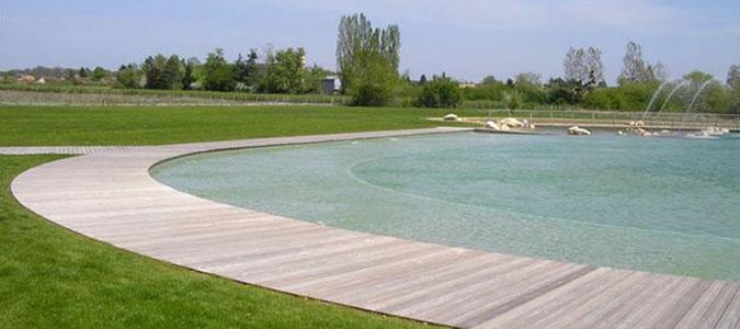 Id e de sortie la baignade naturelle chambord val de loire - Piscine naturelle chambord ...