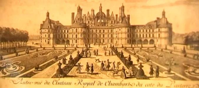 chateau-chambord-jardins-gravure