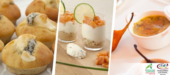 Recettes brunch de noel for Idee repas partage