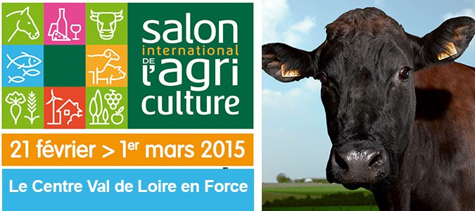 R gion centre val de loire au salon de l 39 agriculture val for Salon agriculture paris 2015