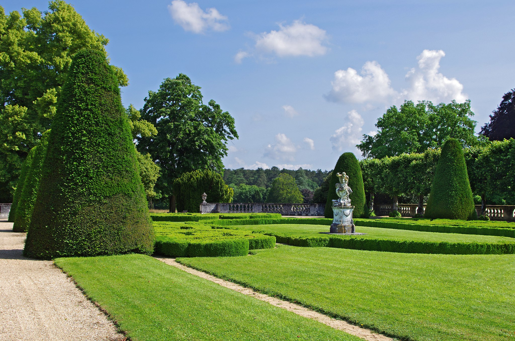 Huit jardins secrets d couvrir en berry val de loire for Jardin et parc 78