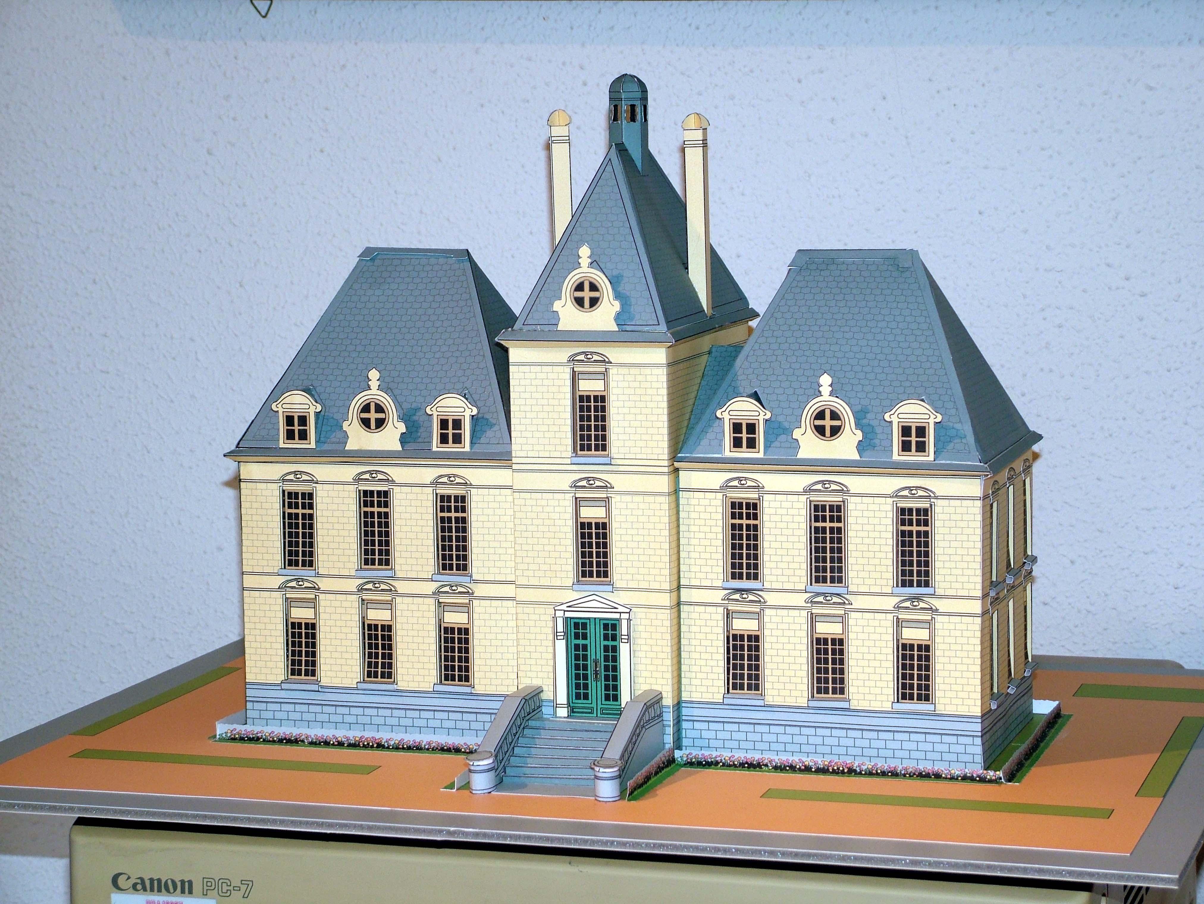 Ch teau de cheverny val de loire - Le chateau de moulinsart ...