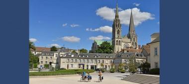 La route de Saint Jacques de Compostelle à vélo en région Centre Val de Loire
