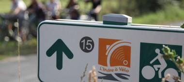 L'Indre à vélo, un itinéraire cyclable au bord de la vallée de l'Indre