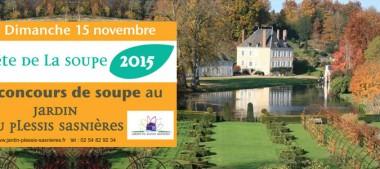 Jardin du Plessis-Sasnières – 3e Fête de la Soupe