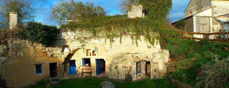 Célèbre Les Maisons Troglodytes de Forges, un hameau à part ! | Val de Loire BC54