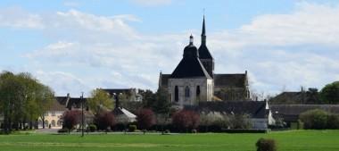 Abbaye de Fleury à Saint-Benoît-sur-Loire, haut lieu de pèlerinage en Val de Loire