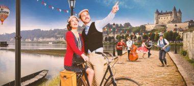 L'Anjou Vélo Vintage fera escale dans les Caves de Langlois-Chateau !