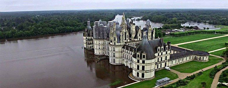 Ch teau de chambord appel aux dons apr s les inondations for Jardin a la francaise chambord