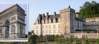 Château de Villandry : Découvrez l'exposition Cent Vues de Paris – Kojiro Akagi