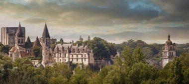Le chevalier est dans tous ses états à la Cité Royale de Loches !
