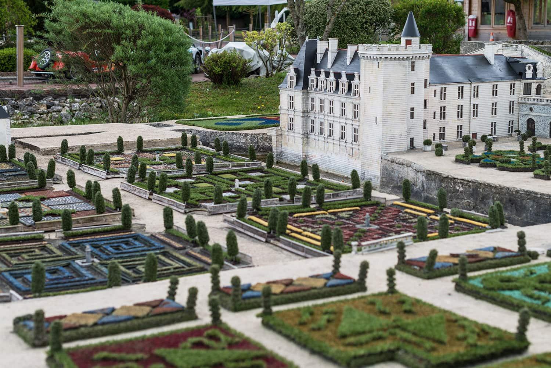 Visitez le val de loire au parc mini ch teaux amboise - Les plus beaux jardins des chateaux de la loire ...