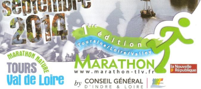 Ev nement le 1er marathon tours val de loire annonc - Office de tourisme de tours indre et loire ...