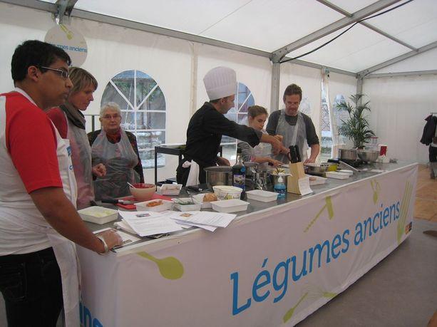 On y t cuisine au ch teau chamerolles val de loire for Atelier de cuisine gastronomique