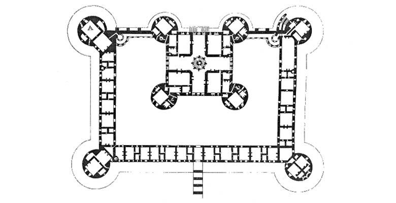 chateau-chambord-plan-rez-de-chaussee