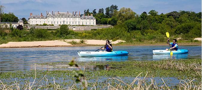 evadezvous en cano235 avec loire kayak val de loire