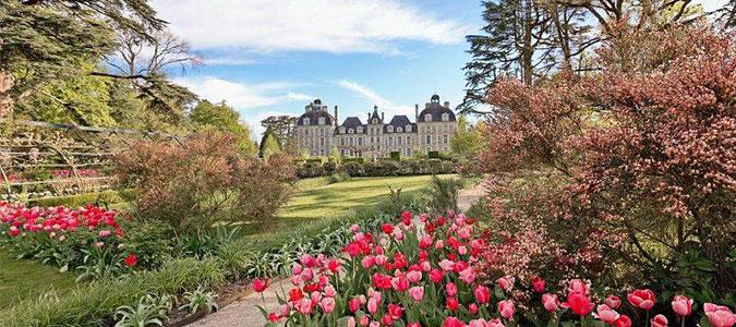 Les jardins de couleurs en Centre-Val de Loire   Val de Loire
