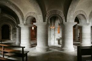 Abbaye de Fleury à St-Benoît-sur-Loire, haut lieu de pèlerinage ...