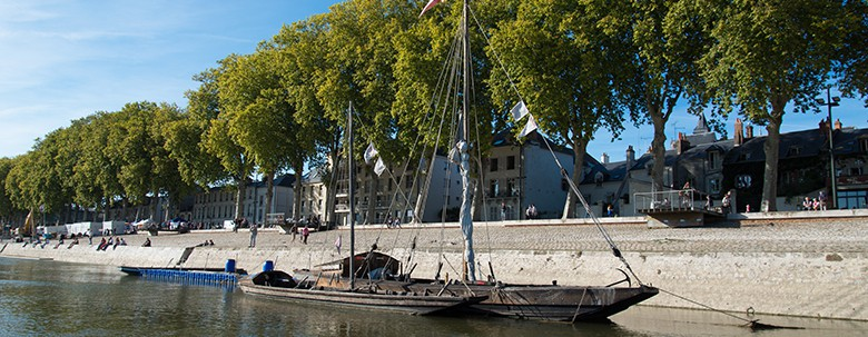 Navette fluviale Orleans Bertrand Deshaye Sterne My Loire Valley