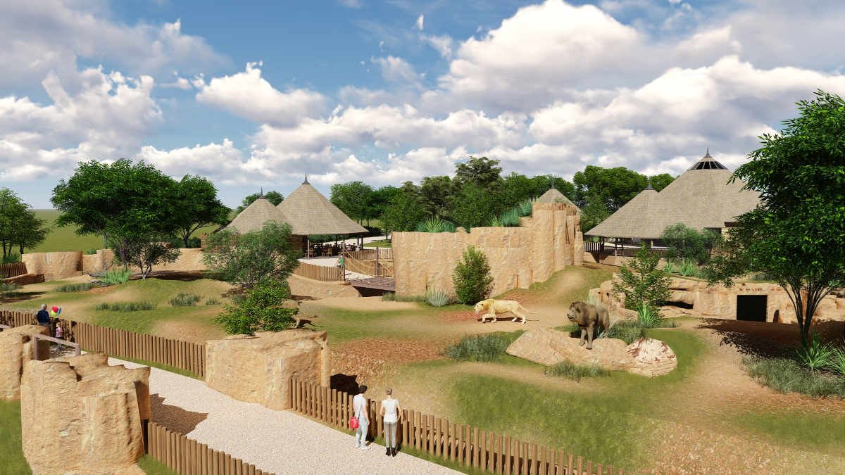 Zoo de beauval la terre des lions en 2017 val de loire for Hotels de beauval