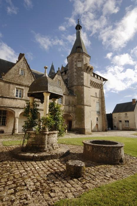 château de Talcy dans le Loir-et-Cher