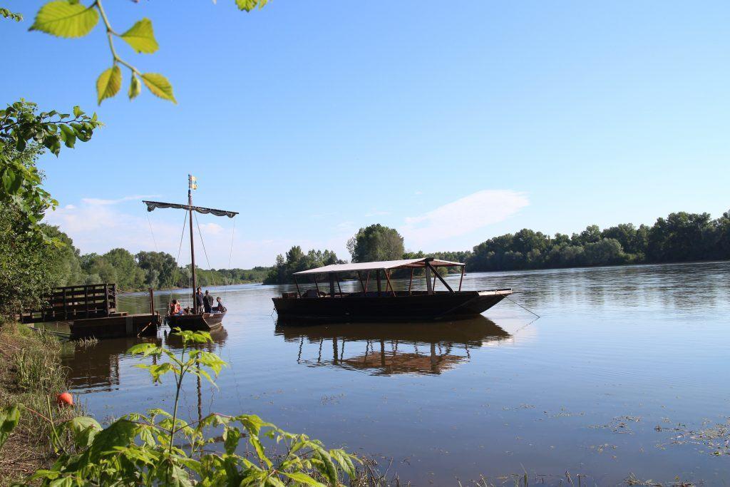 Bateau sur Loire