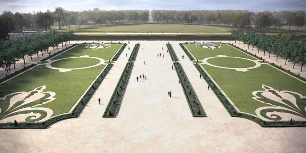 Renaissance des jardins au ch teau de chambord en 2017 for Jardin jardin 2017