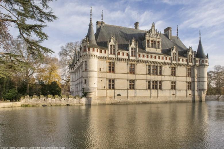 Visite en famille au château d\'Azay-le-Rideau | Val de Loire