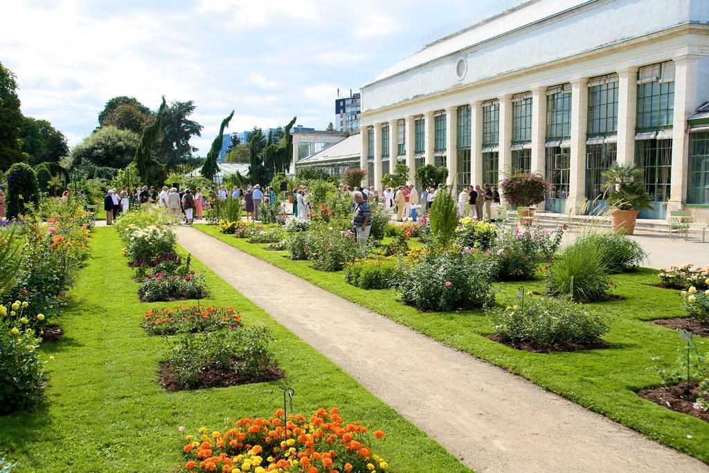 jardin des plantes orléans