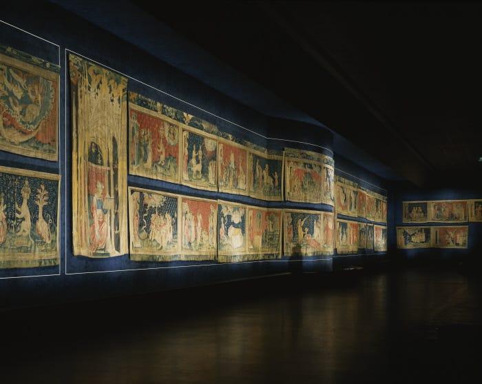 Château d'Angers, galerie de l'Apocalypse