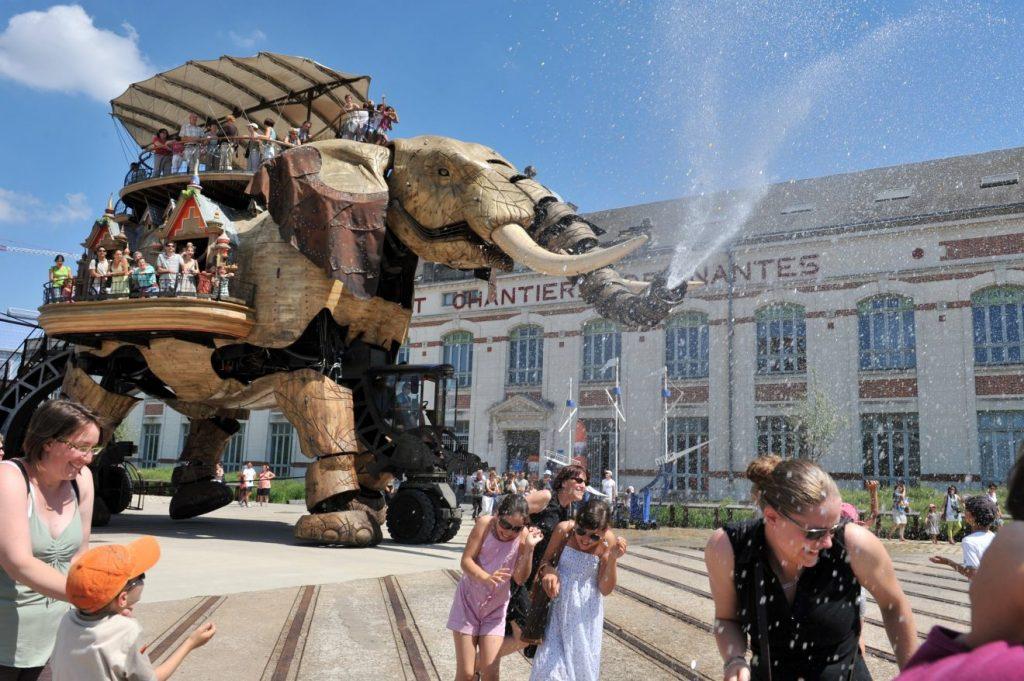 Le Grand Eléphant. Les Machines de l'île. Nantes - My Loire Valley