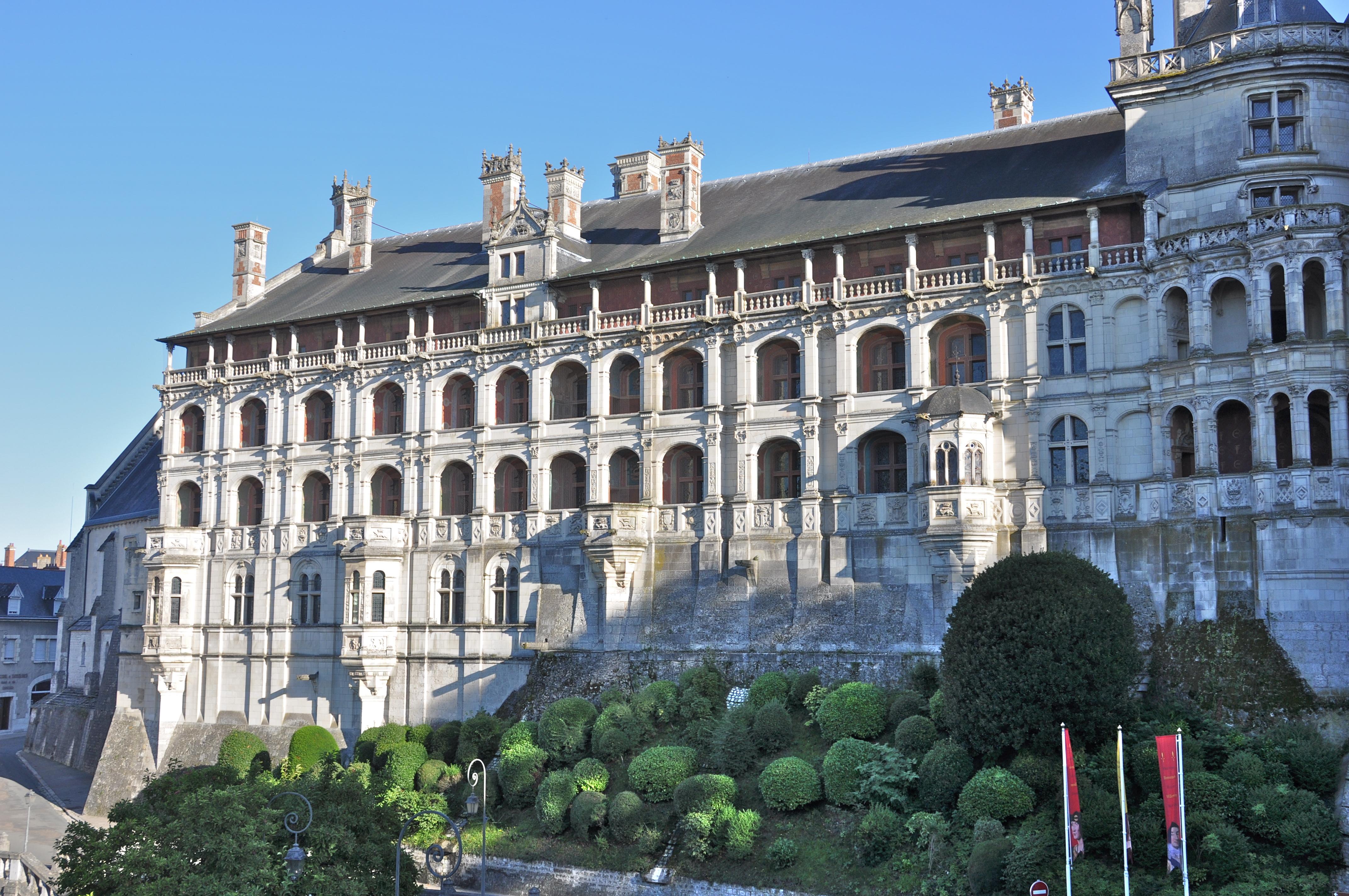 Château_de_Blois Façade_des_Loges - CC0 - My Loire Valley