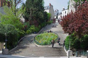 Escalier Denis Papin, Blois (Daniel Jolivet) - My Loire Valley