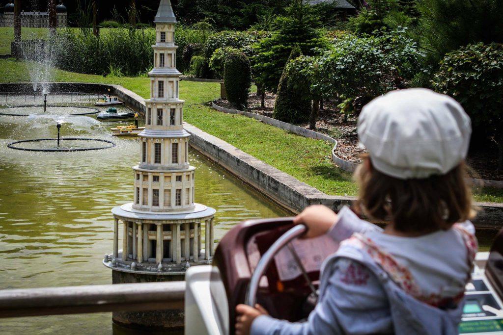 parc mini châteaux pagode chanteloup