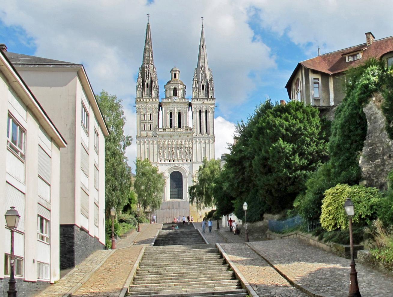 Cathédrale Saint-Maurice d'Angers par Daniel Jolivet