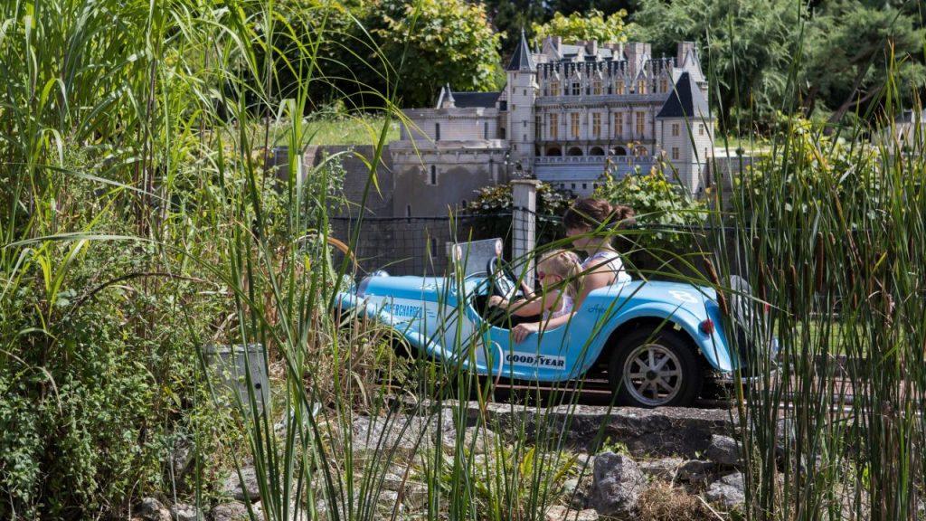 Mini-Bugatti © Parc Mini-Châteaux