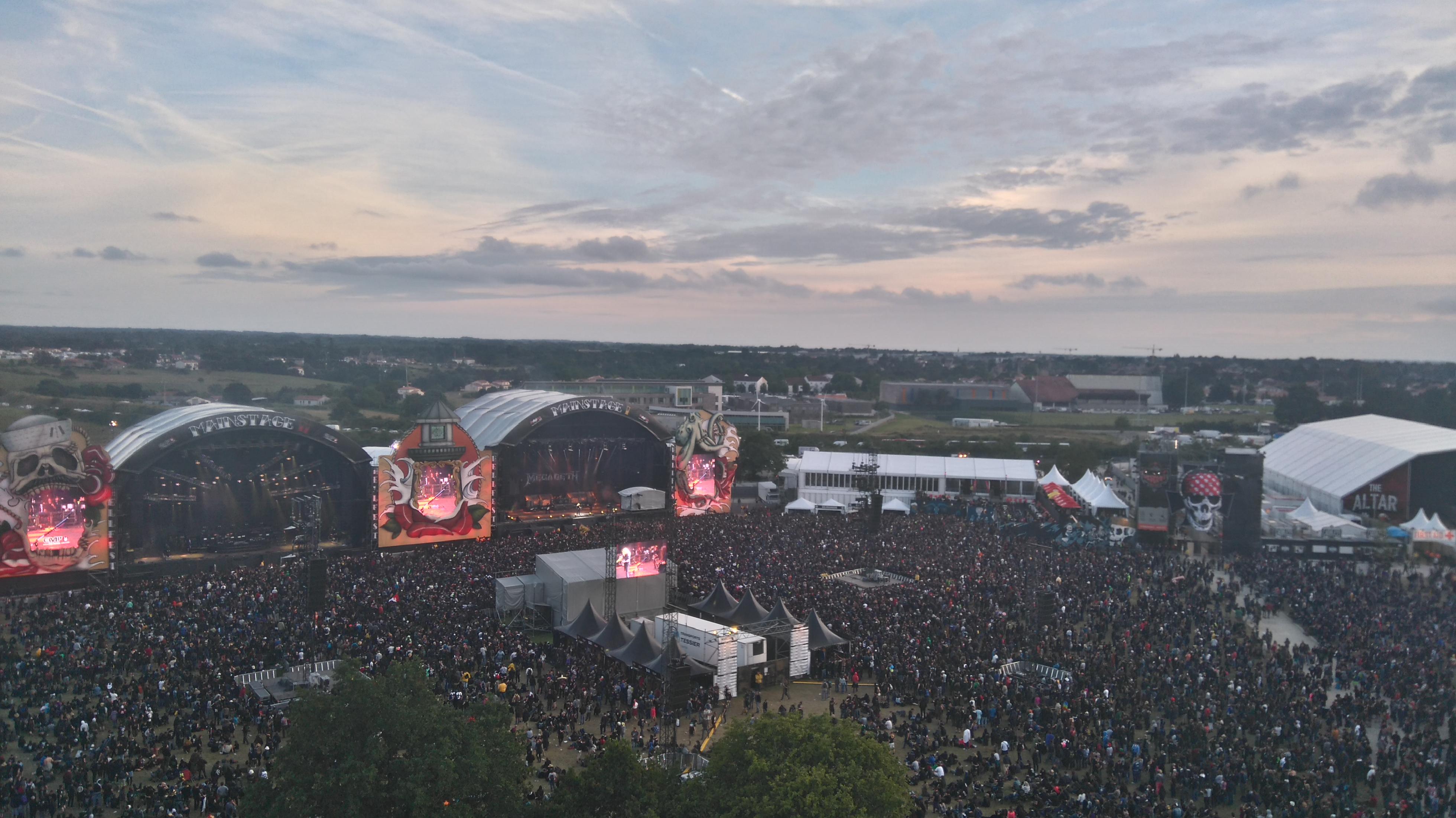 vue-du-ciel-hellfest-festival-clisson©Pauline Bonnet