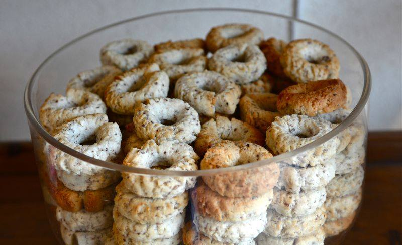 macarons de Cormery en Touraine