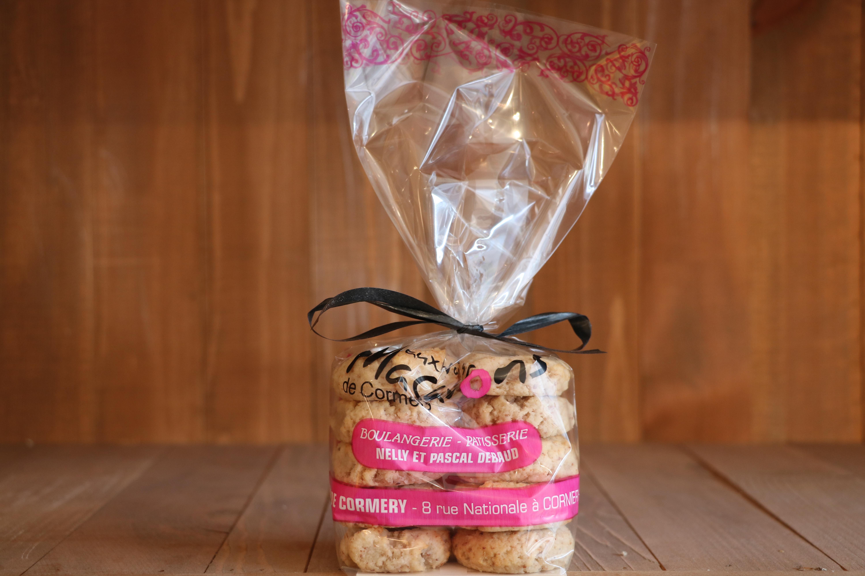 boite de 10 - Aux vrais macarons de Cormery - cc