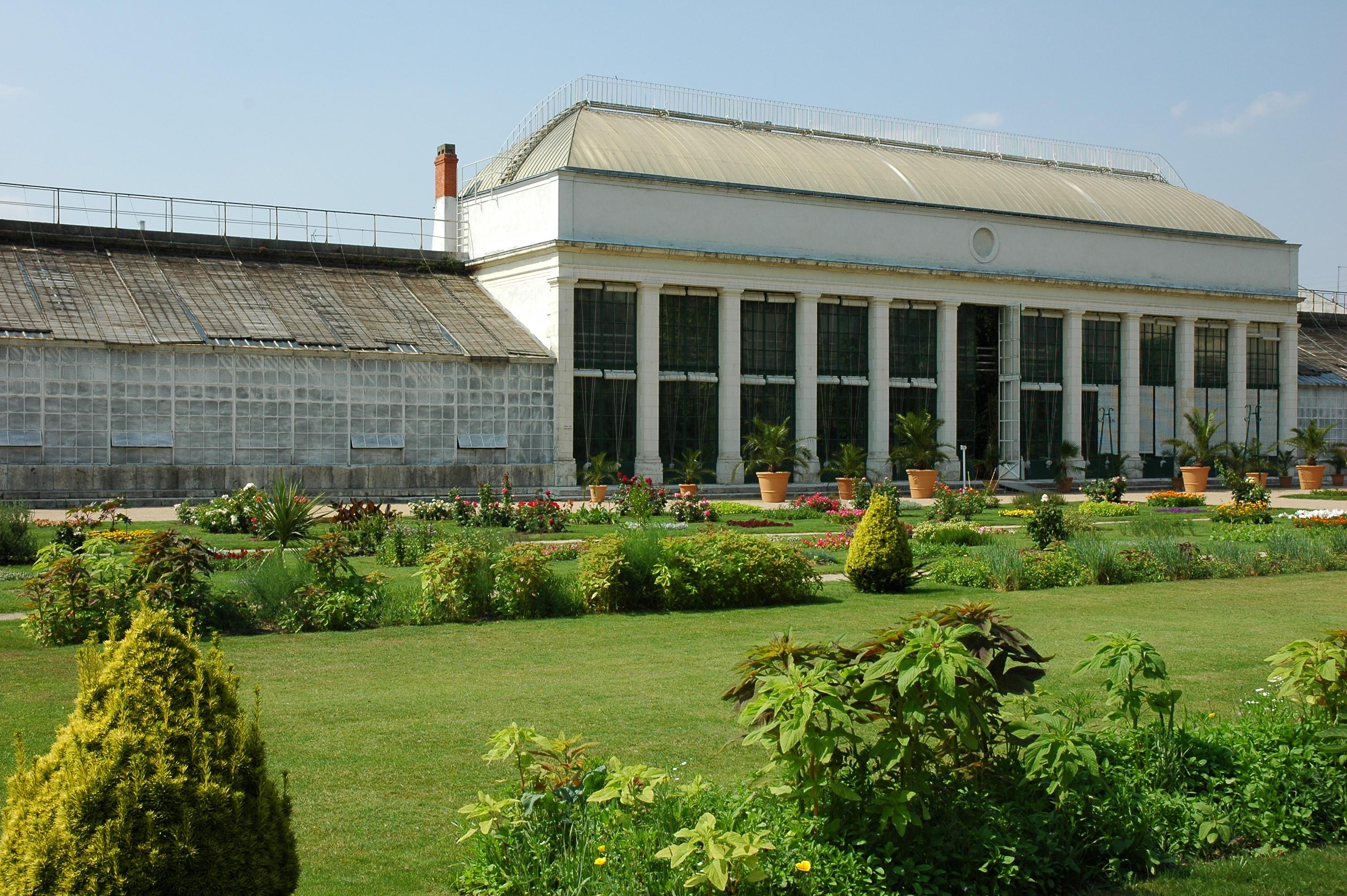 Orangerie du Jardin des plantes