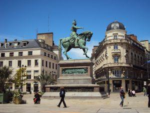 Statue Jeanne d'Arc Orléans, (cc) Adam Bishop