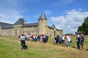 Le château de villars (c) visite