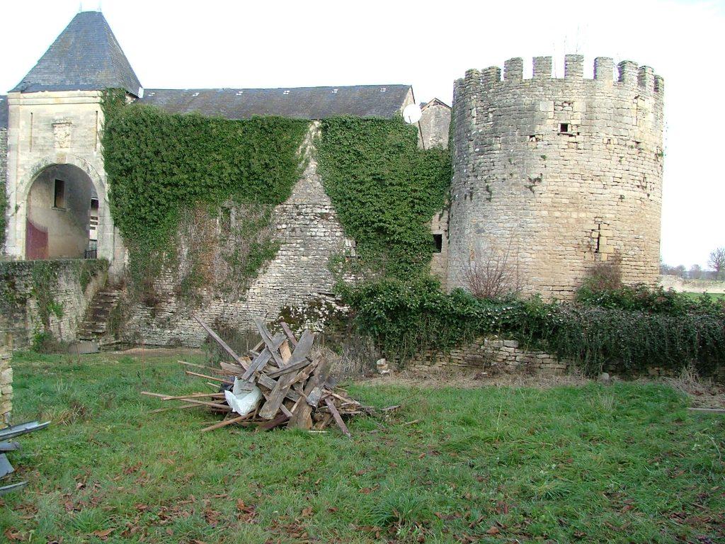 le château de villars avant travaux