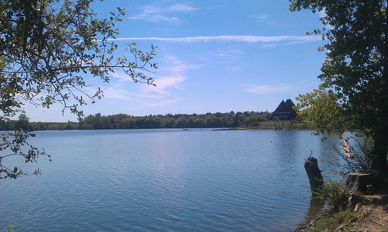 lac de maine - angers - Émeric