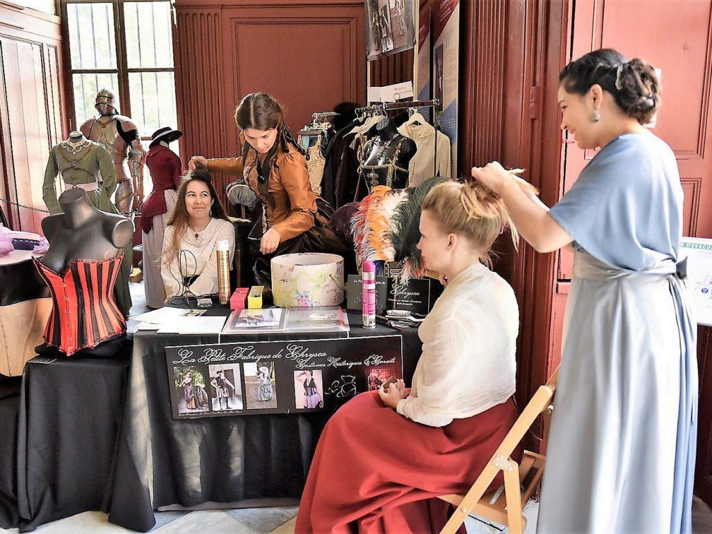 Fashion week historique -chateau de meung sur loire
