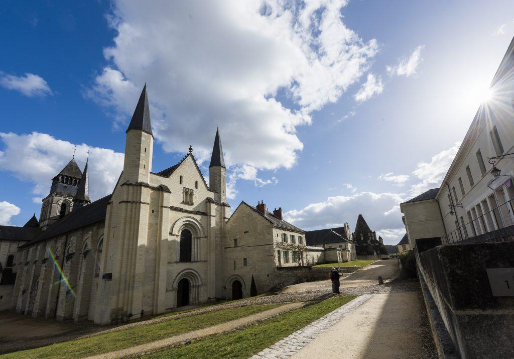 Eglise Abbatiale - Abbaye royale de Fontevraud (© David Darrault)
