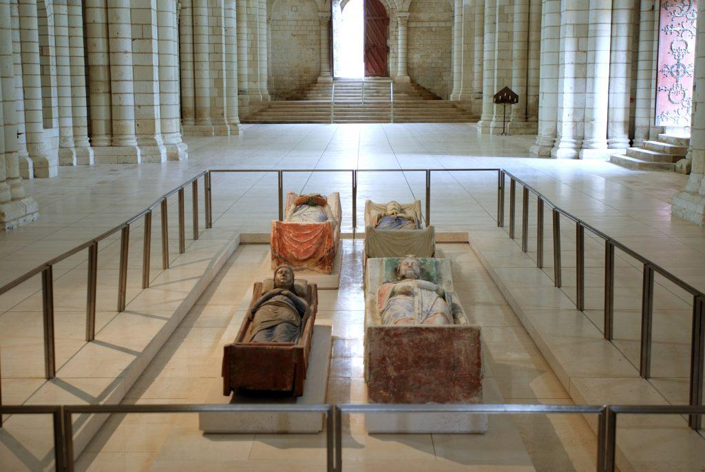 Nécropole des Plantagenêt - Abbaye royale de Fontevraud (© David Darrault)
