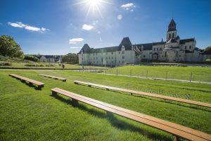 Théâtre de Verdure - Abbaye royale de Fontevraud (© David Darrault)