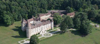 Le château de Bazoches, au cœur du Morvan