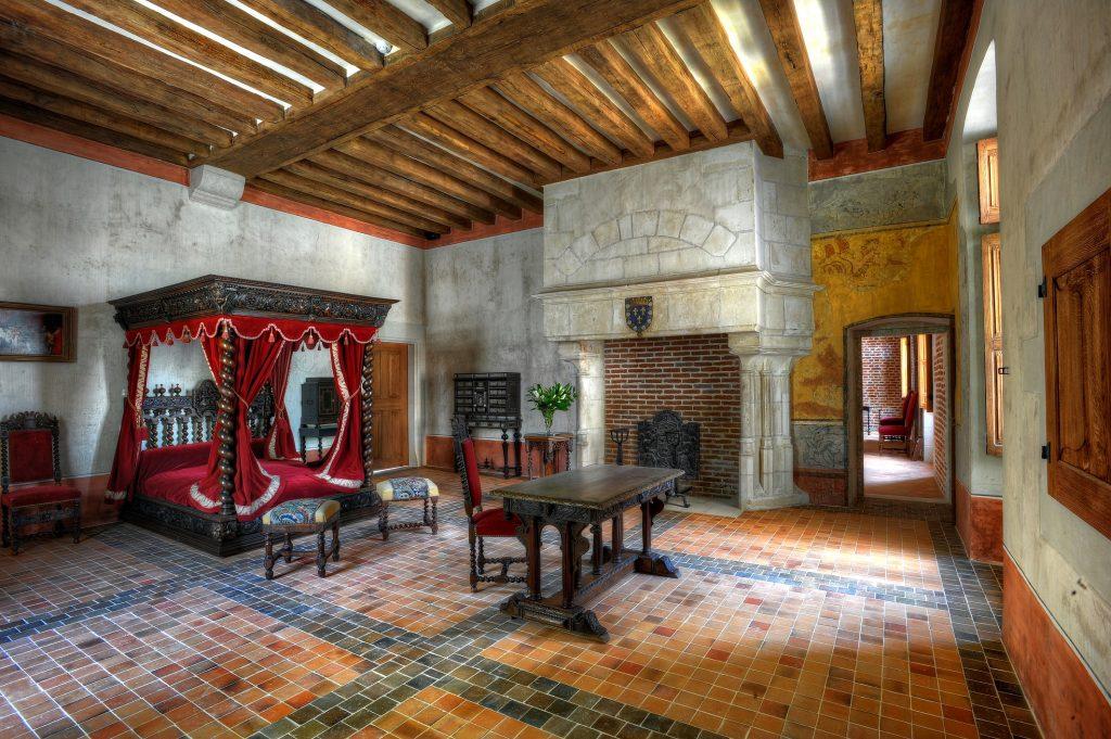 La chambre de Léonard de Vinci